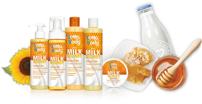Nourishing Honey Haircare