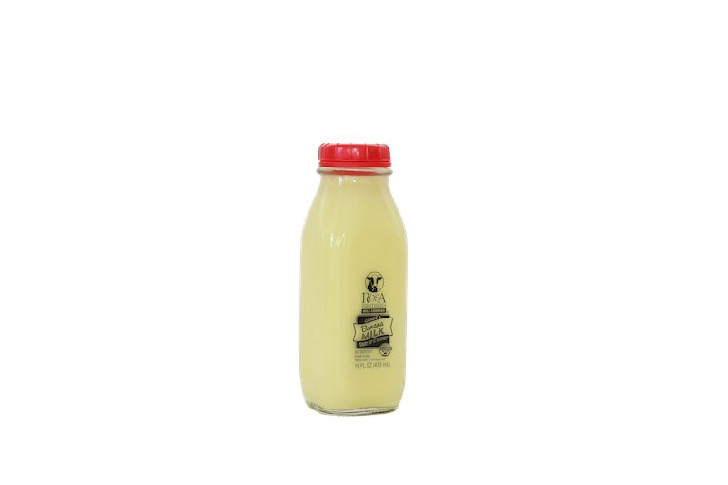 Single-Serve Milk Bottles