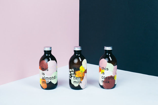 Artful Milk Labels