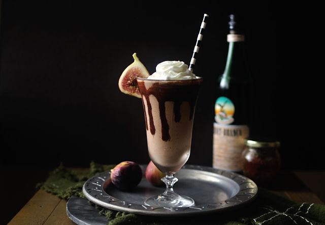Fernet Fig Milkshakes