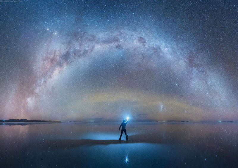 Reflective Milky Way Photography