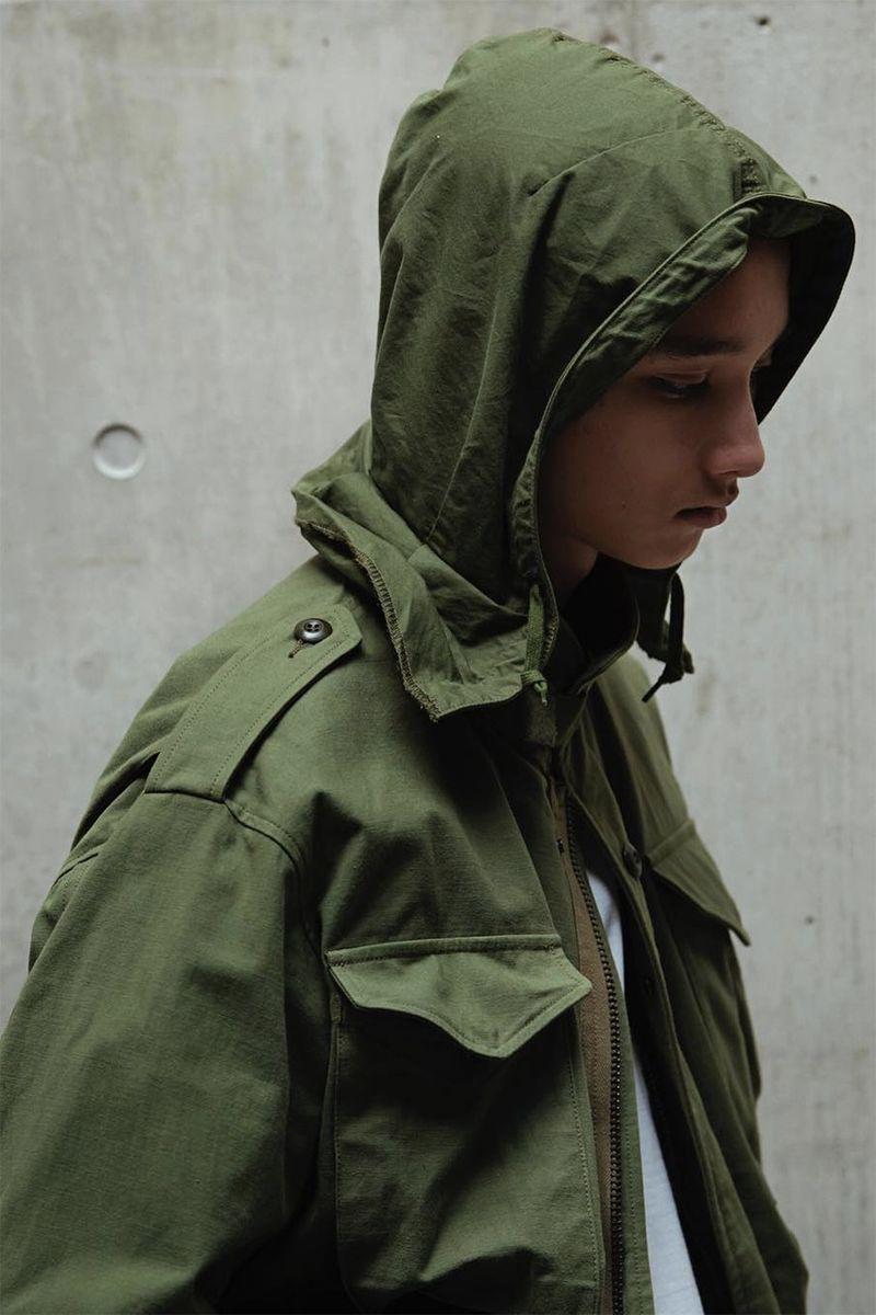 Militaristic Spring Fashion Designs