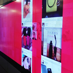 In-Store Instagram Displays