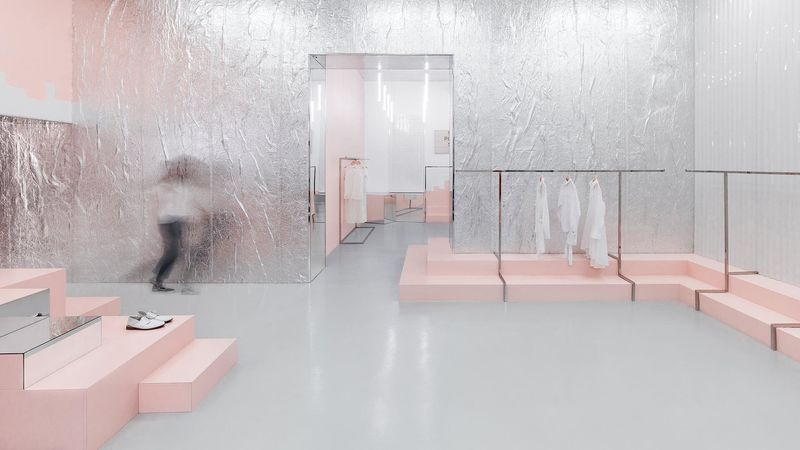 Industrial Millennial Pink Boutiques