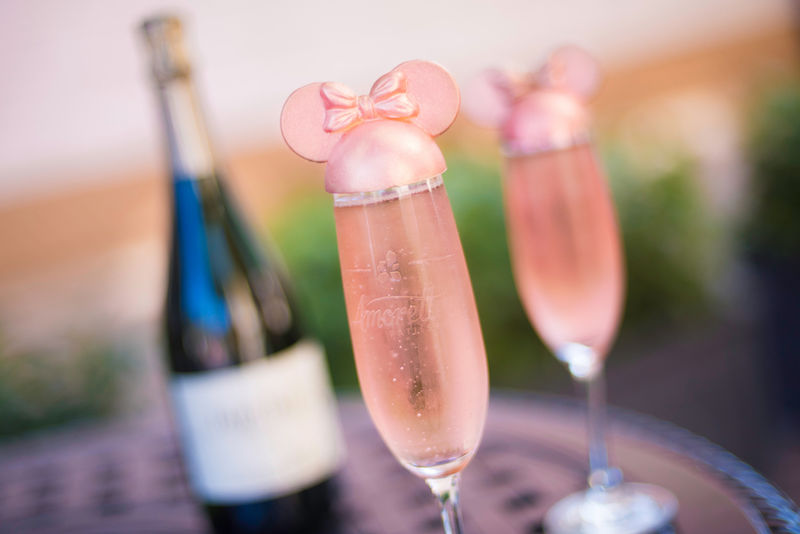 Millennial Pink Champagne Sippers