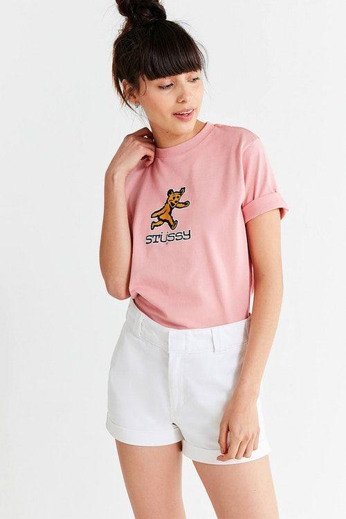 Nostalgic Pink Streetwear Tees