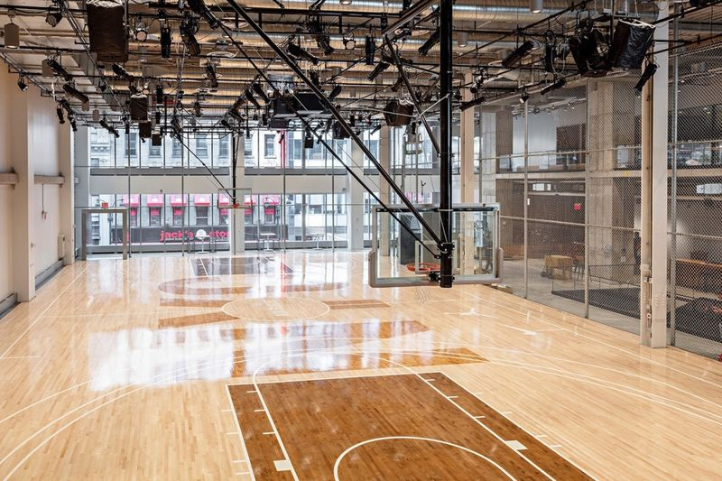 In Office Basketball Courts Millennial Friendly Perks