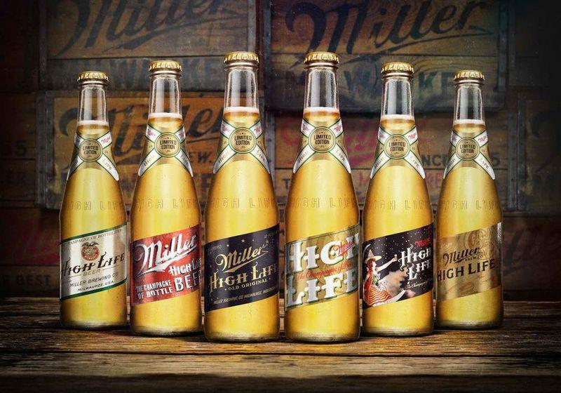 Neo-Vintage Beer Bottles