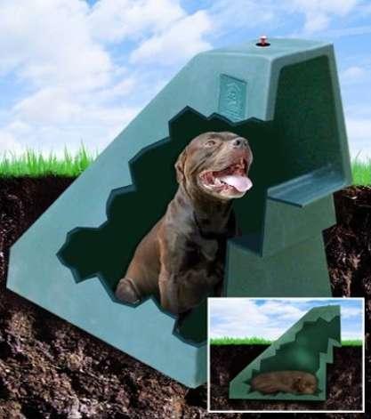 Geothermal Doggie Dens