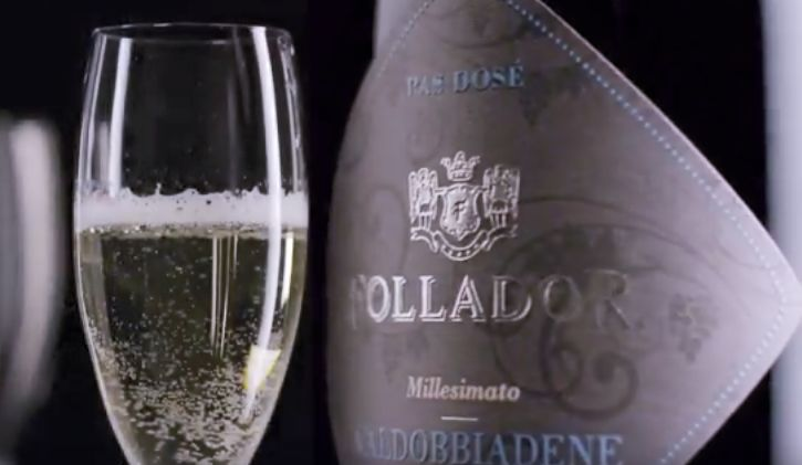 Low-Calorie Vegan Prosecco