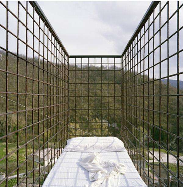 Outdoor Caged Beds