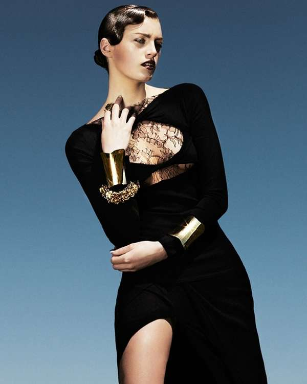 Edgy Jazz-Inspired Editorials