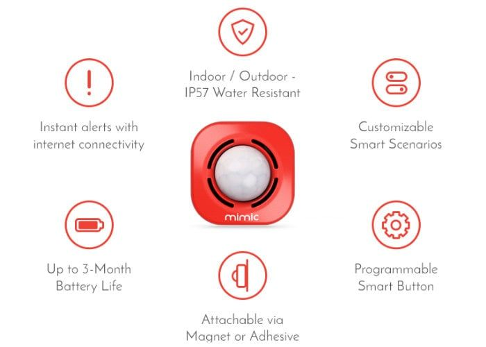 Multifunctional IoT Sensors