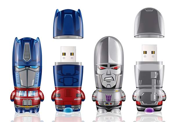 Cinematic Cyborg Flash Drives