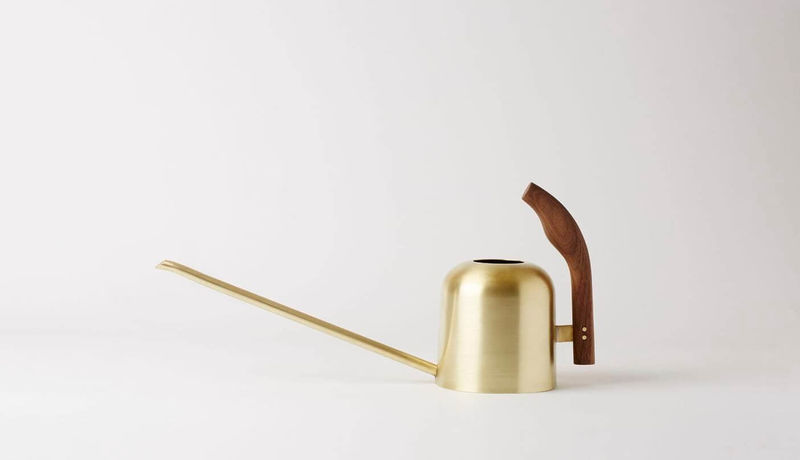 Hand-Crafted Brass Watering Cans