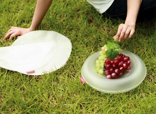 Eco-Inflatable Plates