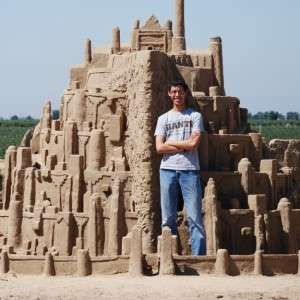 Epic Middle Earth Sandcastles