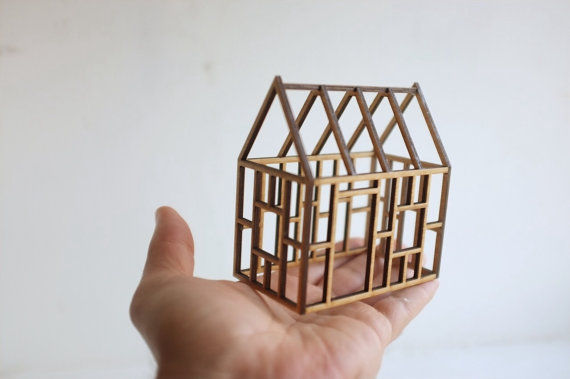 Miniature Architecture Decor