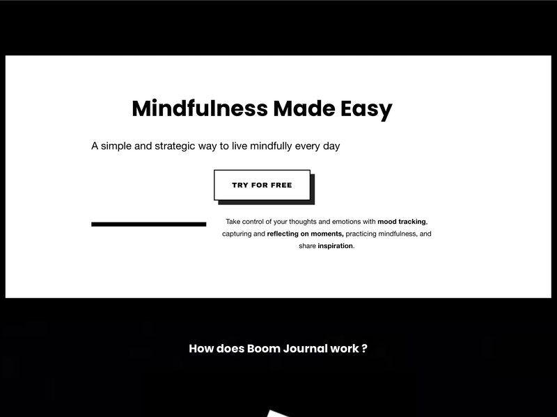 Minimalist Mindful Journal Apps