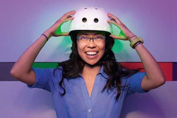 Emotion-Displaying Helmets