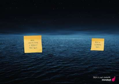 Post-It Note Movie Ads