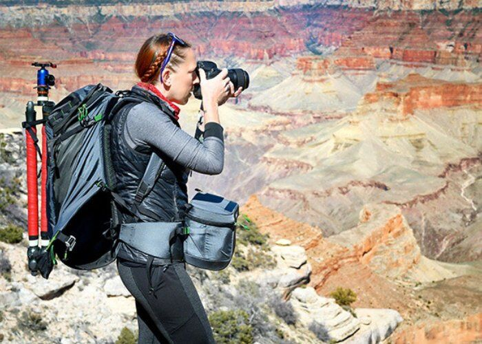 Rotating Photography Backpacks