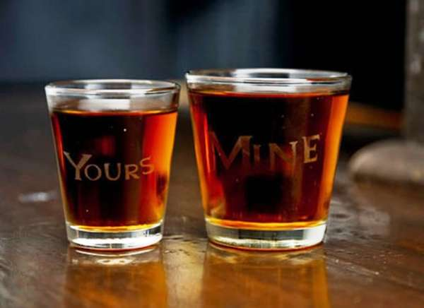 One-Upping Shot Glasses
