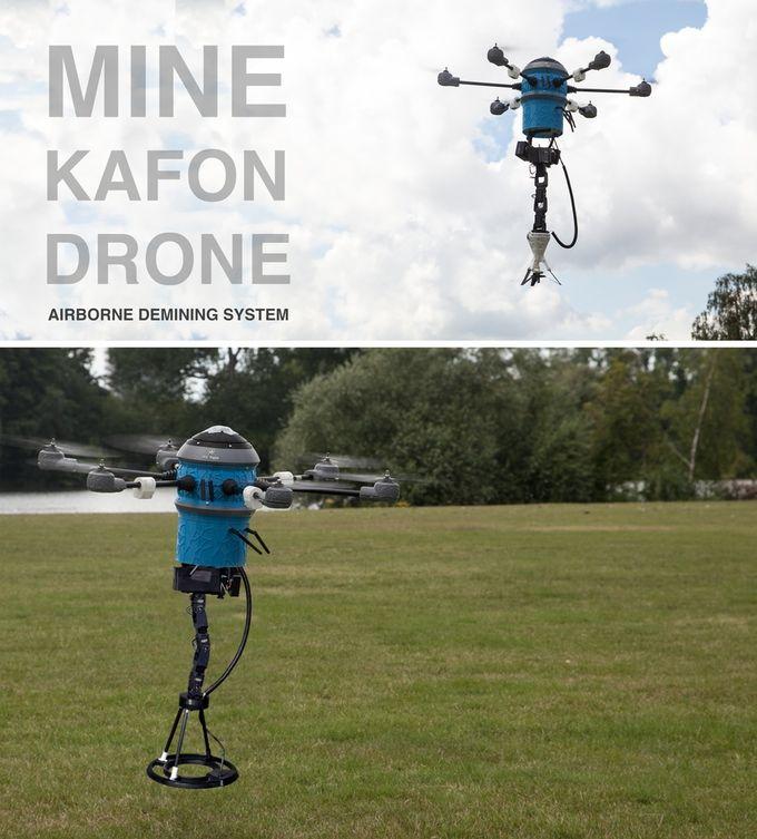 Land Mine-Detecting Drones