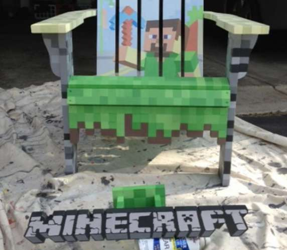 8-Bit Gamer Seating