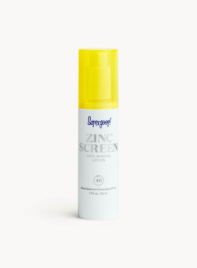 Pink-Tinted Sunscreen Lotions