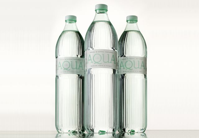 Faux Glass Bottles