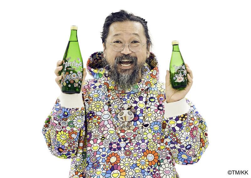 Artist-Designed Mineral Water Bottles