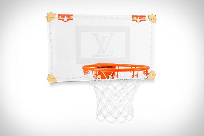 Opulent Bedroom Basketball Hoops