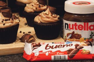 Chocolate Bar Cupcakes