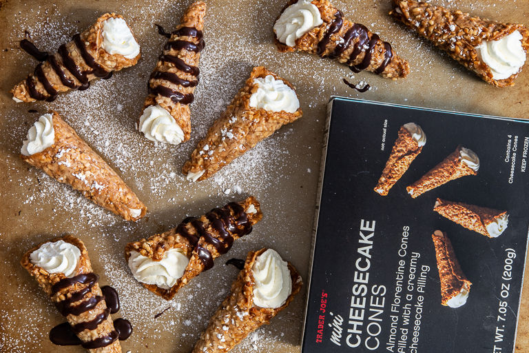 Bite-Sized Cheesecake Cones