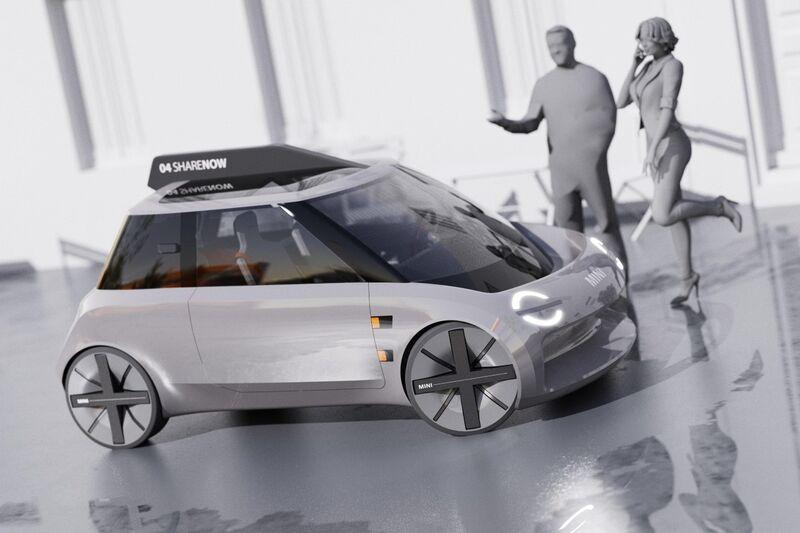 Compact Urbanite Rideshare Vehicles