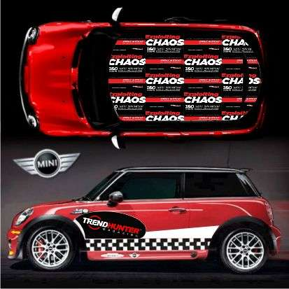 Mini Cooper Wrap >> Customizable Cooper Car Wraps: 5,000,000 DIY Design Dreams Made Real by MINI Motoring Graphics