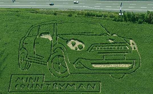 Crop Circle Car Campaigns
