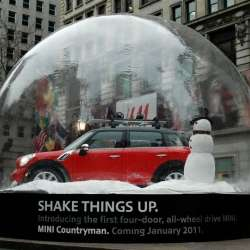 Life-Sized Snow Globes