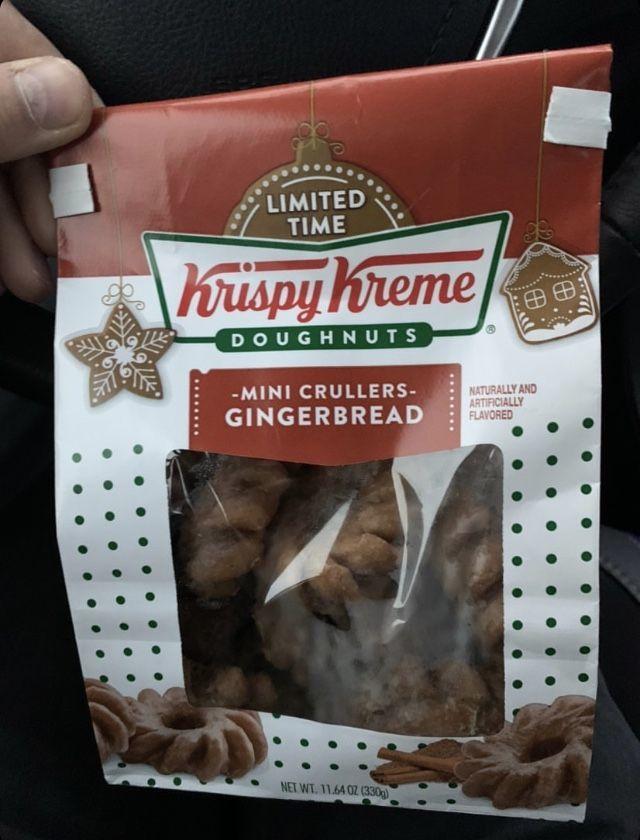 Mini Gingerbread Donuts