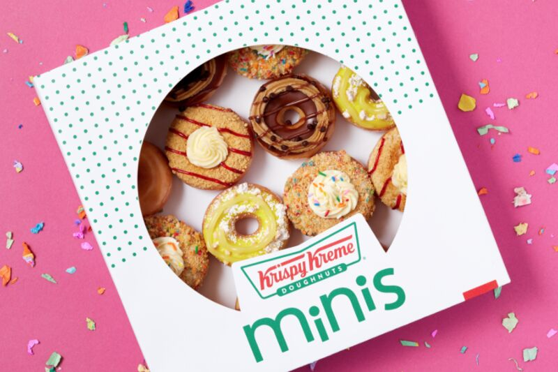 Mini Dessert-Inspired Donuts
