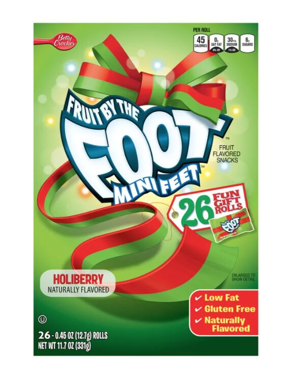 Holiday-Flavored Fruit Snacks