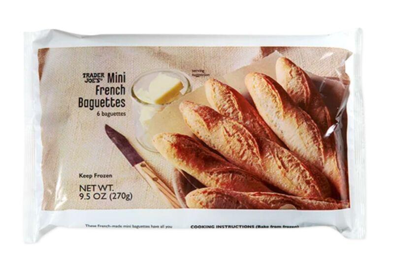 Miniature Frozen French Baguettes