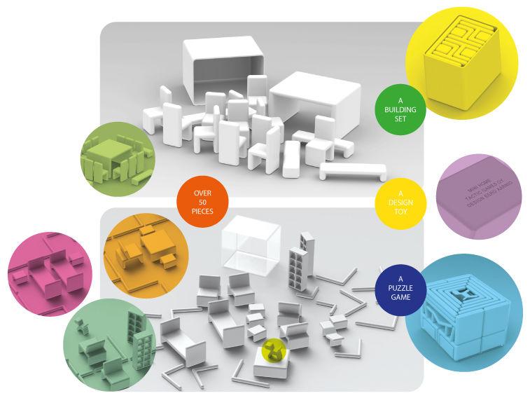 Furniture Puzzle Toys