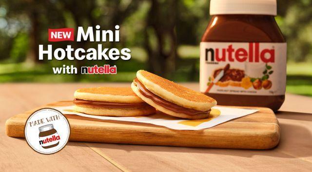 Hazelnut Spread Hotcakes