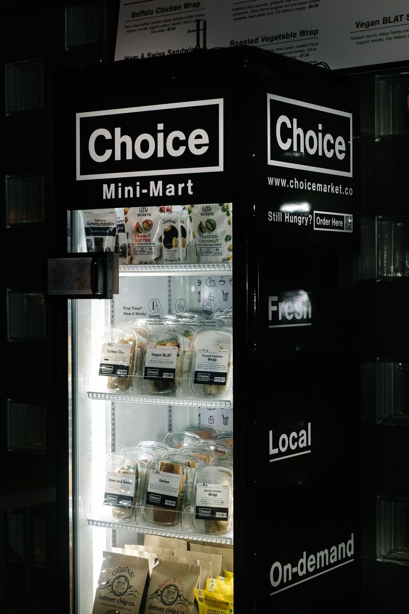 Fresh Snack Vending Machines