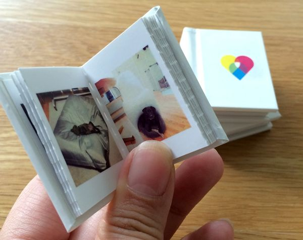 Mini Magnetic Photo Books