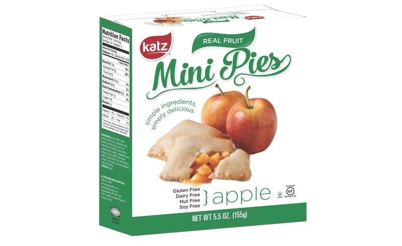 Portioned Preservative-Free Pies