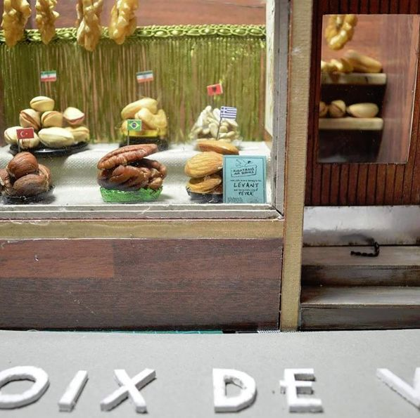 Tiny French Bakery Art
