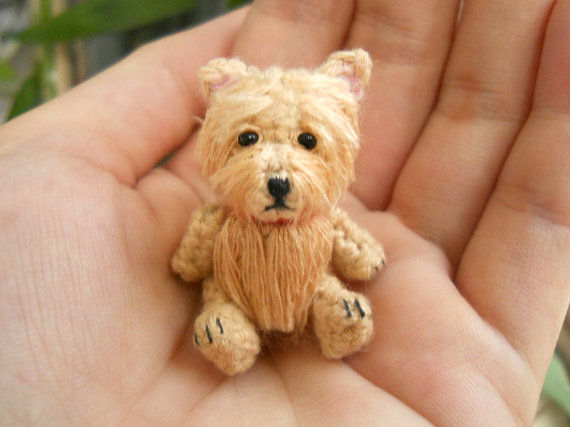 Crocheted Canine Figurines